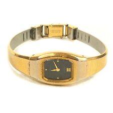 "Vintage PULSAR Stainless Steel Back Woman's Wristwatch Watch 6.50"""