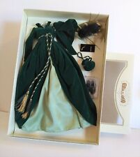 """Franklin Mint """"Gone With The Wind"""" Dress With Accessories In Mint Condition"""