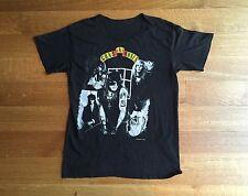 GUNS N ROSES Vintage 1988 Appetite For Destruction Black Concert Rock T Shirt
