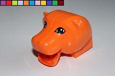 Lego Duplo - Löwe - bewegliches Maul - großer Kopf - Tier