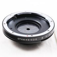 Contax 645 Objektivadapter für Canon EOS EF mount adapter aperture 5D III 80D 6D