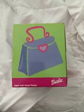 """Rare Brand New Barbie """"Sneezers"""" Supersoft Facial Tissues"""
