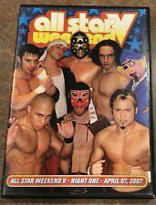 PWG All Star Weekend V Night 1 2007 Pro Wrestling Guerilla WWE ROH TNA AEW WCW E