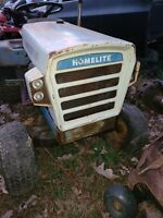 1970's Homelite T16 Lawn Tractor