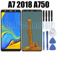 For Samsung Galaxy A7 2018 A750F Touch LCD Display Screen Digitizer Test Black Q