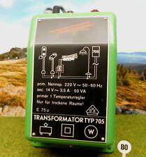 spielejack VIK080 Fleischmann-Licht-Trafo #6700, Leistung 50VA, geprüfte Technik