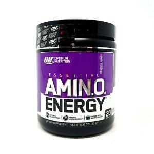Optimum Nutrition ON Amino Energy 20 SERVING BCAA EAA Amino Acid Pre-Workout