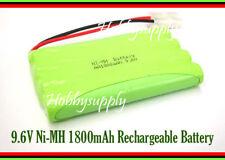 9.6V AA Ni-MH 1800mAh 8-Cell Battery Pack w/. Tamiya for RC Boat Car Truck Tank