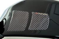 Kohlefaser Faser Optik Knie Seite Tank Protektoren - Für Suzuki Motorräder