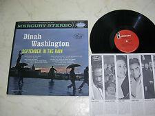 Dinah Washington settembre in the rain US Mercury