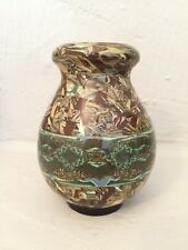 Gerbino Vallauris, petit vase en céramique, signé