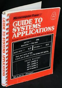 TRS-80 Guide to Systems Applications Book