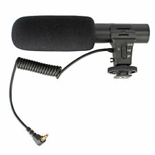 Microphone for DSLR Cameras and Smart Phones