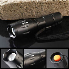 8000LM X800 Zoomable XM-L T6 LED Flashlight G700 Tactical Focus Torch Lamp Light