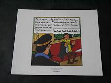 EX LIBRIS HERGE TINTIN VOL 714 POUR SYDNEY PLANCHE 2 STRIP 5