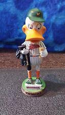 Long Island Ducks Baseball Quackerjack Mascot Briarcliffe Graduation Bobblehead