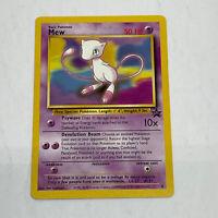 MEW Black Star Promo 8 WOTC Not HOLO Rare NEAR MINT Pokemon Card Wizards 2000