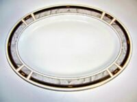 Majesty Bellvue Oval Platter  14 1/4 x 10 1/4