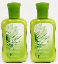 2 Bath Body Works WHITE CITRUS Travel Mini Size Lotion Body Cream