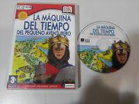 LA MAQUINA DEL TIEMPO DEL PEQUEÑO AVENTURERO - JUEGO PC CD-ROM ESPAÑOL - AM