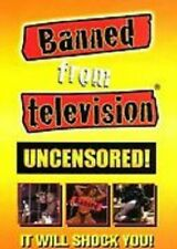 BANNED FROM TELEVISION, ON DVD-R. PLAIN DVD-R with no Artwork in Paper Sleeve