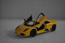 "5"" Kinsmart Lamborghini Murcielago LP640 Diecast Model Toy Car 1:36 Yellow"