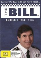 The Bill : Series 3 (DVD, 2011, 3-Disc Set Brand New and Sealed PAL REGION 0