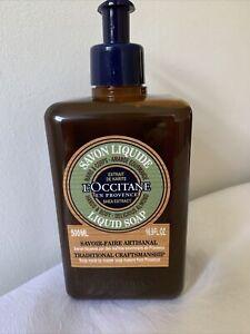 L'OCCITANE-SHEA ALMOND HANDS&BODY LIQUID SOAP-PUMP DISPENSER-500ml--NEW/UNBOXED