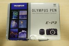 Olympus PEN E-P3 (Body only) - Chrome Silver BEAUTIFUL!