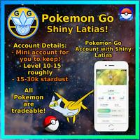 Pokemon Account Go Shiny Latias - Mini Acc!