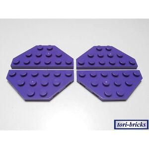 Lego Flügel / Keil Platte 3x6 dunkel lila 4 Stück »NEU« # 2419