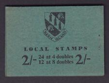 HERM ISLAND 1959 2/- BOOKLET RIGHT STAPLE  FINE