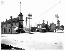 Photo. 1900s. Vancouver, Canada. Mount Pleasant, Main Street - Streetcar