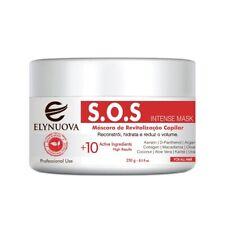 Elynuova SOS Treatment Brazilian Hair Mask Restoration Deep Hydration 250g-8.5oz