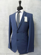 Men'S blue slim fit Occasioni Vestito 2 PEZZI 38r w32 l31 cc1928