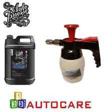 Pistola De Espuma De Nieve Agua a Presión HCl Pulverizador Botella + Auto Finesse Avalancha 5 Litro
