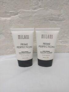 2 MILANI PRIME PERFECTION HYDRATING FACE PRIMER - 0.68 FL OZ EACH