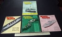 1964 Vintage Model Maker Magazine x 4 Ships Cars Yachts Adverts Engineering #12
