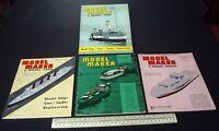 1964 Vintage Model Maker Magazine x 4 Ships Cars Yachts Adverts Engineering #12