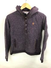 Fat Face Sweater Youth Size 10 Purple Thick Soft Outdoors