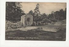 Walsingham Abbey The Holy Wells Vintage Postcard 301a