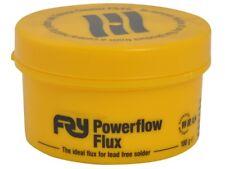 FRY POWERFLOW FLUX FOR LEAD FREE SOLDER 100g (BRAND NEW)