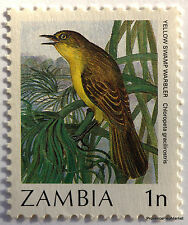 Rare Zambia 1n Error Overload Omitted Yt387 Sc388 Sg486 NEUF426a30