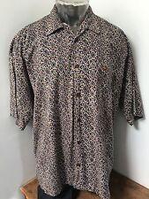 VINTAGE QUIKSILVER QSD Saltwater Denim Men's Size Large Button Up Summer Shirt