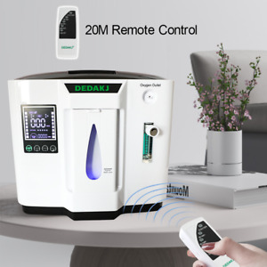1-7L/min Air Concentrator Generator Air Purifier Home Car Travel AC220V UK Stock
