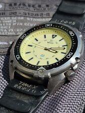 Vintage Timex Diver's Watch Rare Oversized Case 100M