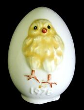 Vintage Goebel Easter Egg with Chick 1978 West Germany No Stand