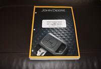 JOHN DEERE 644K 4WD LOADER SERVICE REPAIR MANUAL TM12107