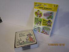 Rare Pimpernel Hallmark Maxine 6 Coasters New In The Box Plus Stickers