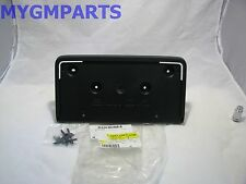 BUICK LACROSSE FRONT LICENSE PLATE HOLDER 2017 NEW OEM GM  22976463